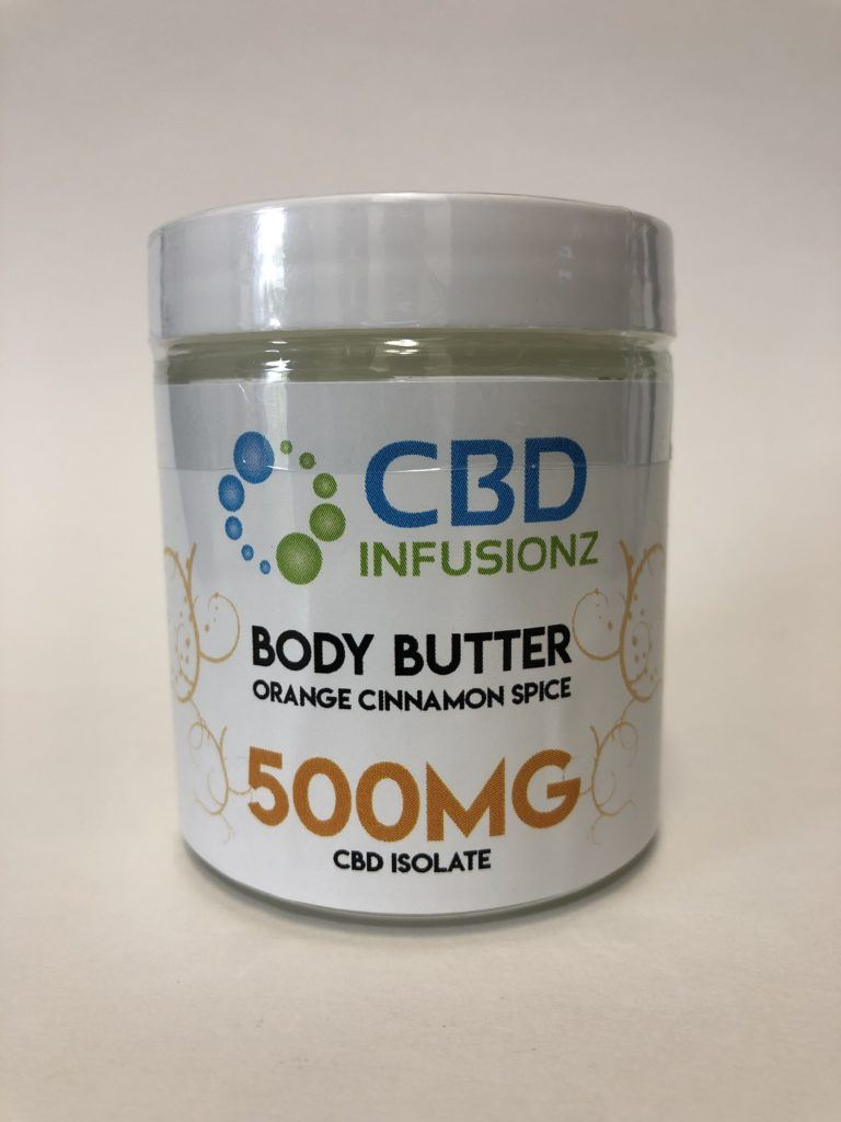 Infusionz – Orange/Cinnamon/Spice Body Butter – 500mg NEW!