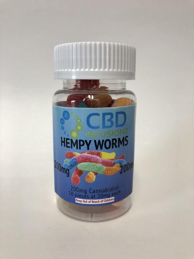 Infusionz – Hempy Worms FSO – 100mg or 200mg