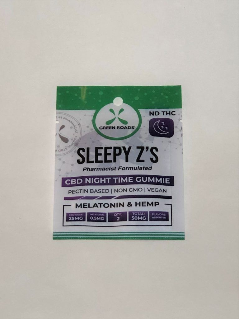 Green Roads – Sleepy Z's – 50mg *NOTE: Total Online Order Must Exceed $20 to Ship